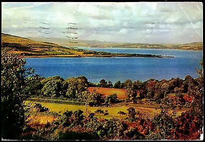 Firth Of Clyde From High Craigmore & Golf Course  Posted 1961 Stamped