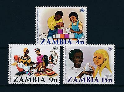 [51147] Zambia 1977 Against racism Discrimination MNH