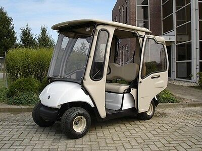 Yamaha G29E Golf Buggy 2010 with rare Curtis Full Cab Enclosure