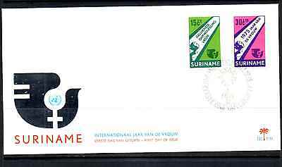Suriname 1975 Fdc – International Year Of Women #a0436