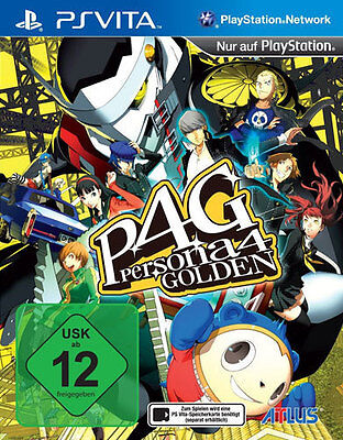 Sony Playstation Vita PSV PSVita Spiel ***** Persona 4 Golden ***********NEU*NEW