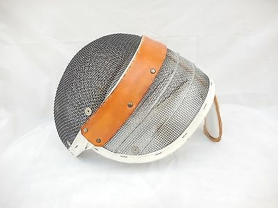 Vintage Santelli Fencing Mask Wire & Mesh