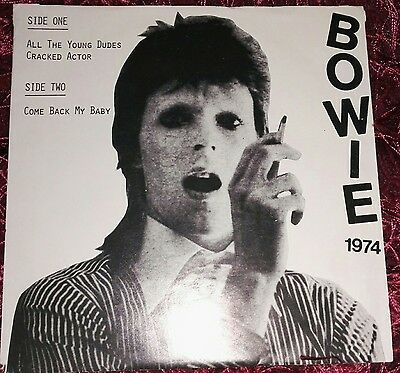 "david bowie. all the young dudes 7"" white label single"