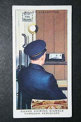 Southern Railway  Guards Observation Periscope   Original Vintage Card  ##  VGC