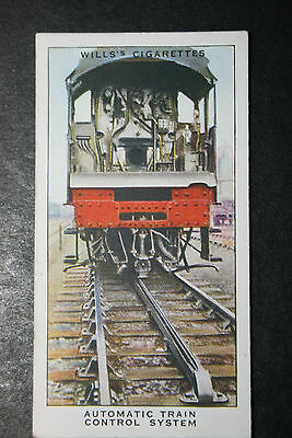 Great Western Railway  Automatic Train Control System   1930's Vintage Card  VGC