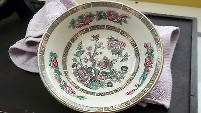 Cereal / Dessert Bowl  By Sampson Bridgewood Pottery In Indian Tree Pattern