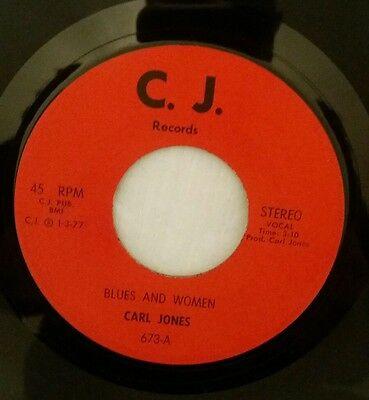 "Carl Jones ""Blues And Women""  C.J."