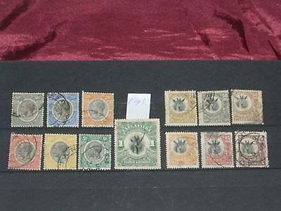 early Tanganyika stamps to 1/- (i do combine p&p)