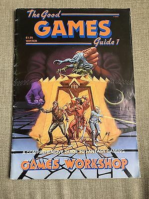 Games Workshop - The Good Games Guide 1 - Winter 1985-1986 - VERY RARE!
