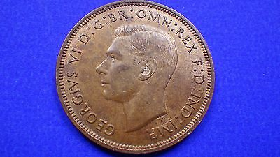 Very decent King George 1944 penny EF - jwhitt60 coin collection