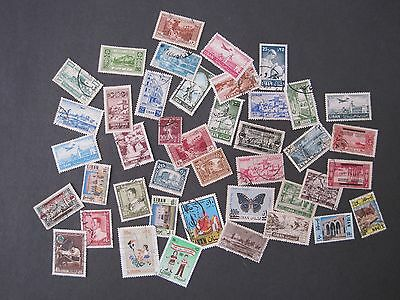 Lebanon Liban About 40 stamps. Mixed Eras. Mostly off paper.