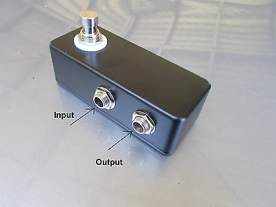 Mini Looper Pedal Effects FX Send/Receive Switchable Black