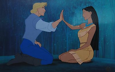 Original Walt Disney Limited Edition Cel from Pocahontas, Two Worlds