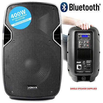 Vonyx 170.344 10 Inch Bluetooth Active PA Speaker 400W