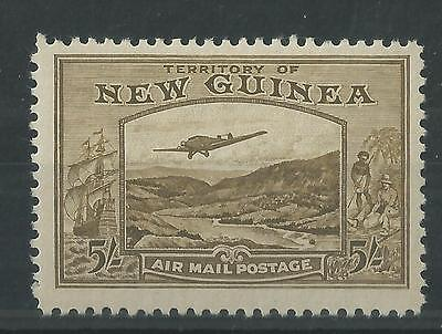 New Guinea 1939 5/- Air Mail Postage SG223 Mint Cat£180
