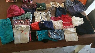 Gros lot vêtements fille 6 ans sergent major catimini verbaudet zara