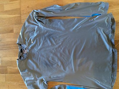 Nike dry-fit running top size large
