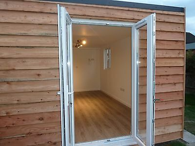 Insulated garden room / office / studio / gymnasium from  £550m2