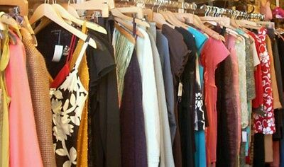 50 PC Women's Wholesale Clothing Lot Assorted Mixed Sizes Resale