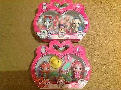 Palace Pets Whisker Haven Treasure and Dreamy, Pumpkin and Berrys Playsets (both