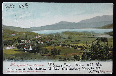 Old Poscard, Krumpendorf am Worthersee- Early 1900's