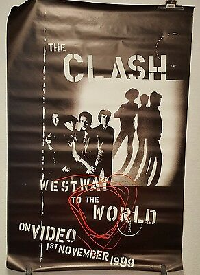 "The Clash Huge poster Advertising Billboard 1 x 1.5 M "" Westway to the world """