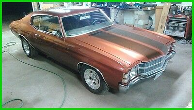1971 Chevrolet Chevelle  1971 Chevrolet Chevelle Malibu, 2 Door Hard Top Used Manual Coupe