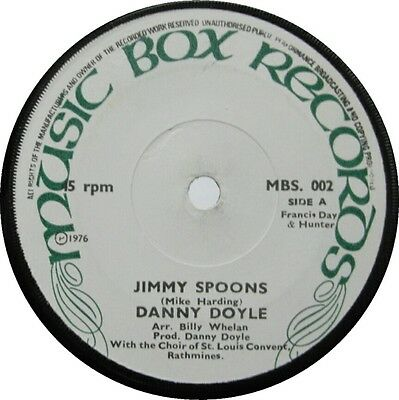 Danny Doyle, Jimmy Spoons, The Lambs On The Green Hills, Irish Vinyl, Music Box