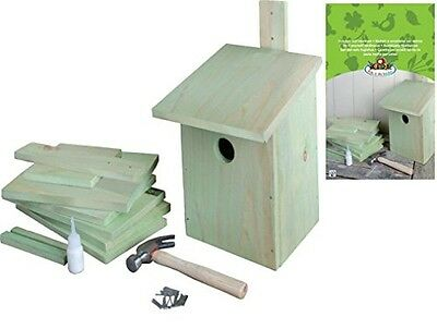 Esschert Design USA KG52 Children's Build it Yourself Birdhouse Kit