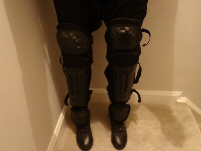 Ex Riot Police Protective Leg Pads