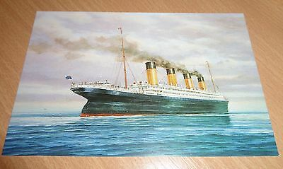 RMS TITANIC Edith Haisman Hand signed limited edition postcard number 1 of 100