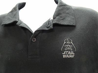 "Disney Parks Black Short Sleeve ""star Wars"" Polo Shirt - Mens Size Xl - Nwt"