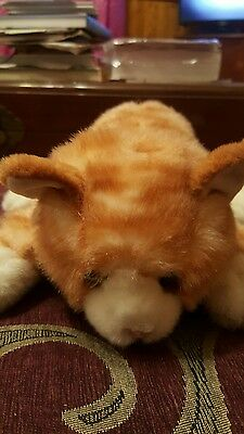 ross soft toy cat