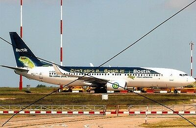 Civil Aircraft Photo Photograph Bostick Boeing 737 Picture.