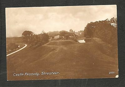 RP Castle Kennedy Stranraer Scotland unused Vintage Print Wigtownshire