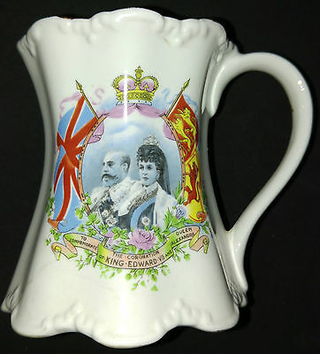 To Commemorate The Coronation of King Edward VII and Queen Alexander Bone China