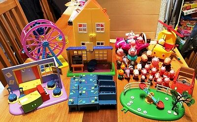 MASSIVE bundle of Peppa Pig toys and figures
