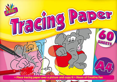 A4 Tracing Paper For Copying Craft Pad Creative 60 Sheets : WH3 : PBL690 : NEW