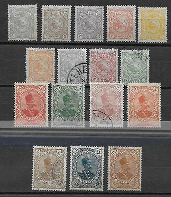 Persia Stamp Selected  Mint / Used