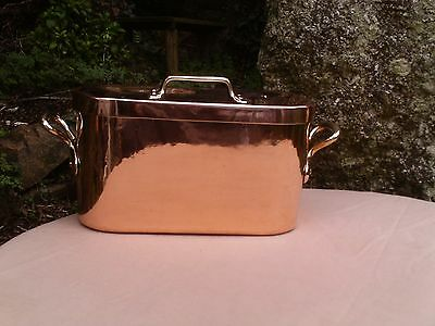 New tinning DAUBIERE copper pan stockpot cuivre etame pot saucepan