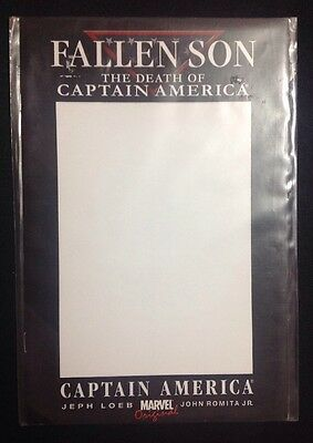 FALLEN SON - The Death Of Captain America - Blank Cover