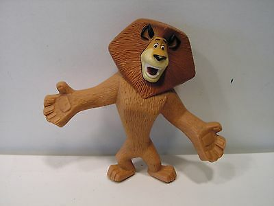 4 Inch Alex the Lion from Madagascar Movie Figurine / Toy / Open