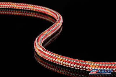 656 ft Spool 6mm Dyneema sailing rope/line by FSE-Robline: Admiral 5000 red/o/gr