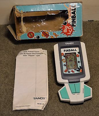 Tandy pinball Vintage LCD Game And Watch Style Toy Working 1980s Toy