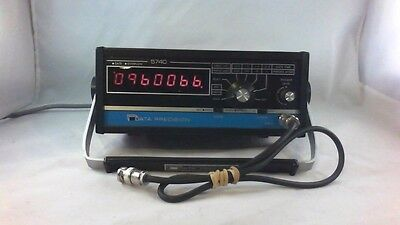 Data Precision 5740 Multifunction Frequency Counter tested w manual