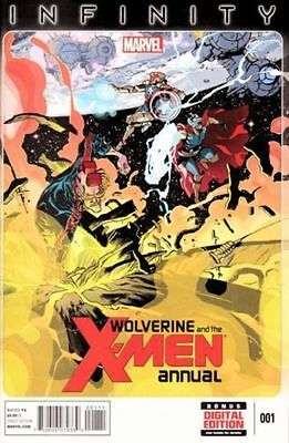 WOLVERINE AND THE X-MEN ANNUAL #1 Good Marvel Comic (C-3)