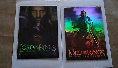 Lord Of The Rings The Return Of The Kings :Bonus Foil Card 1/2Promo Cards