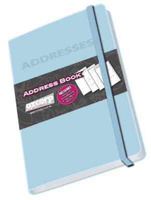 Ozcorp Mini Address Book 8.5x12.5cm - Blue