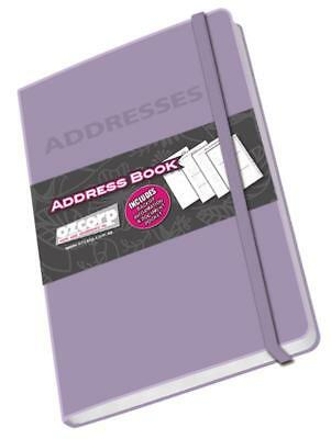 Ozcorp Mini Address Book 8.5x12.5cm - Lilac