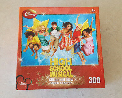 Disney High School Musical Puzzle Glitter And Glow 300 Piece 2007
